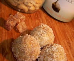 Apricot and Ginger Bliss Balls