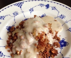 Apple Crumble Gluten Grain and Dairy Free