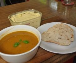 Roast Pumpkin & Bean Soup