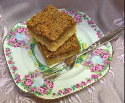 Pecan and Maple Syrup slice
