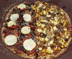 Cauliflower and Quinoa Pizza