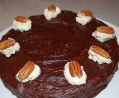 Chocolate Pecan Cake - Gluten Free