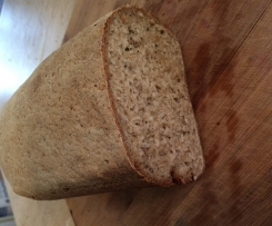 Teff Sandwich Bread with Pita alternative