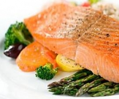 Dijon Salmon and Vegetables (Varoma)