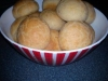 Pao de Queijo (Brazilian Cheese Bread) Gluten free. Also with Blood group diet (BGD) type O alternatives