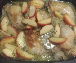 Mustard & Apple Chicken Bake