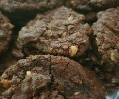 Fudgy-Wudgy Chocolate Cookies