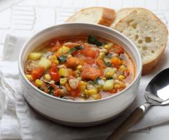 Veg Soup Recipe