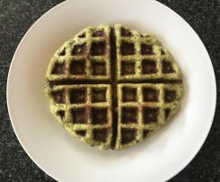 LCHF Broccoli and Cheese Waffles