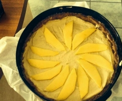 Raw Mango & Lime Nutcheese Cake