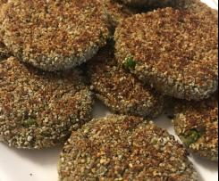 Tuna Patties with Sunflower & Pepita Crumb