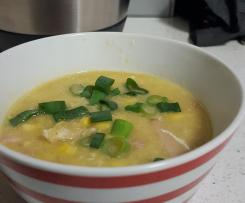 Variation Chicken and Sweet Corn Soup