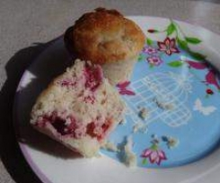 Raspberry Cream Cheese Muffins