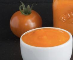 Capsicum tomato pasta sauce