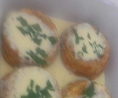 Twice Baked Cheese Soufflee