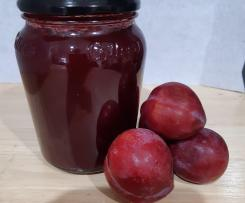 Low Sugar Plum Jam or Apricot Jam