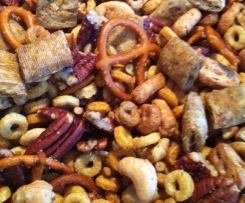 Nuts Bolts and Screws Party Mix