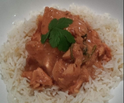 Salmon Tomato Curry