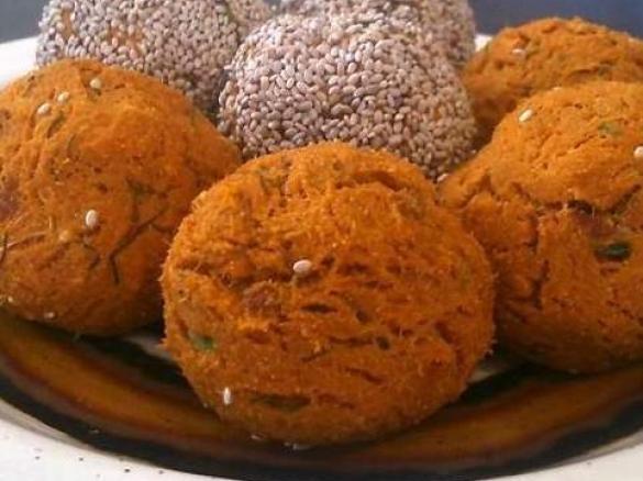 Paleo salmon and sweet potato balls graindairy free toddler thumbnail image 1 forumfinder Images