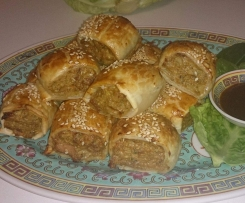 Sausage Rolls - Asian Style