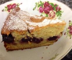 Ricotta Cherry  Cake
