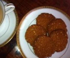 Chantal's Anzac Biscuits
