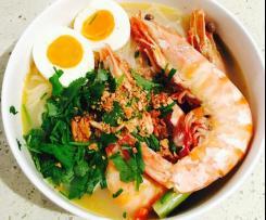 Prawns Tom Yum Noodle