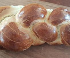 Zopf (Swiss Milk Bread)