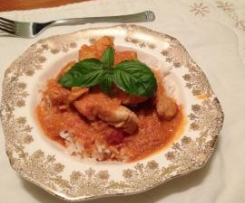 Tomato & Coconut Chicken Curry