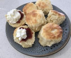 Fluffy scones