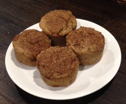 Clone of Apple, Pear and Cinnamon muffins (vegan, egg-free, dairy-free)