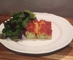 Simply Delicious Spinach and Ricotta Cannelloni