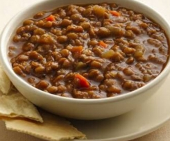 Easy Chilli & Lentil Soup