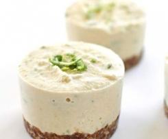 Clean Vegan Lime Cheesecake