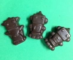 Raw dark peppermint chocolate