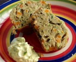 Buckwheat savoury muffins