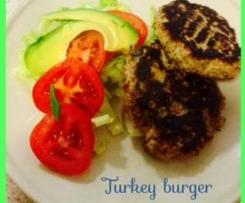 turkey chappali kebabs(burgers)