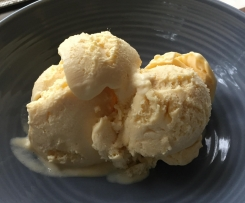 Mango (Weiss-like) ice cream