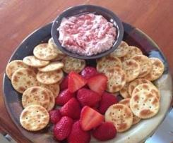 Strawberry Chutney Dip..