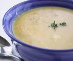 Oliver's Lite Potato and Leek Soup