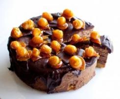 Chocolate Chestnut Cheesecake
