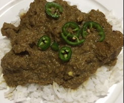 Beef Curry Vindaloo (Mild)