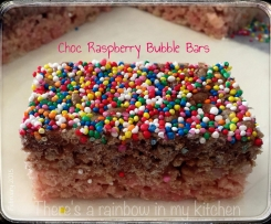 Choc Rasberry Bubble Bars