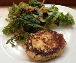 Chicken & VEGGIE PATTIES