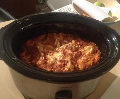 Vegetable Lasagna (for Slow Cooker)