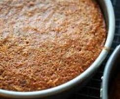 Gluten Free Coconut Lemon Syrup Cake