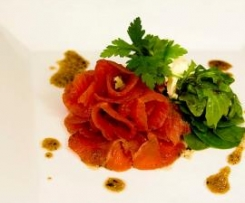 Anise-Scented Cured Salmon