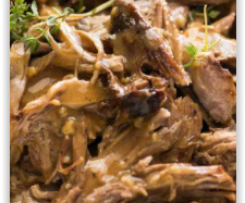 GF Slow cooker Roast Lamb Leg and Gravy