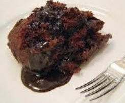 Self-saucing Coffee and Date pudding