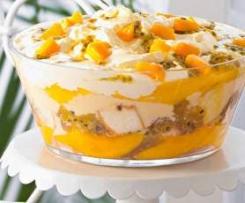 Mango & Passionfruit Summer Trifle